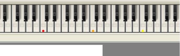 Capella muzieksoftware muisklavier