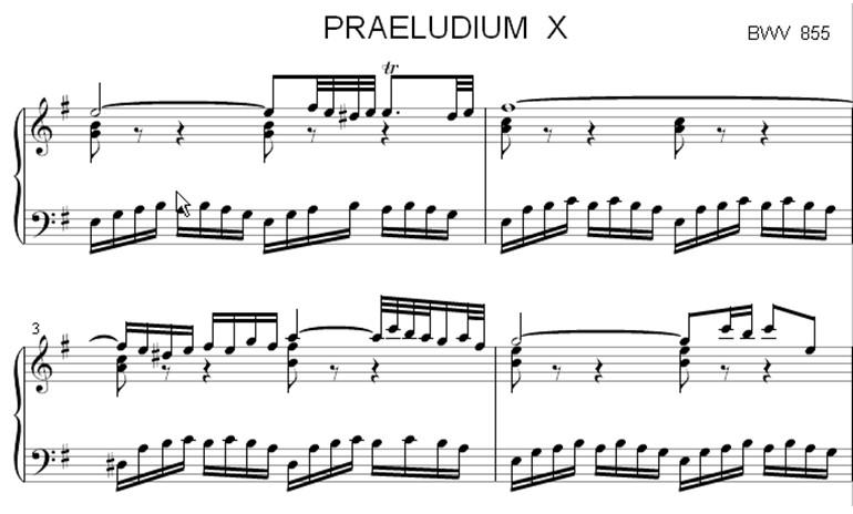 Voorbeeld Capella muzieksoftware