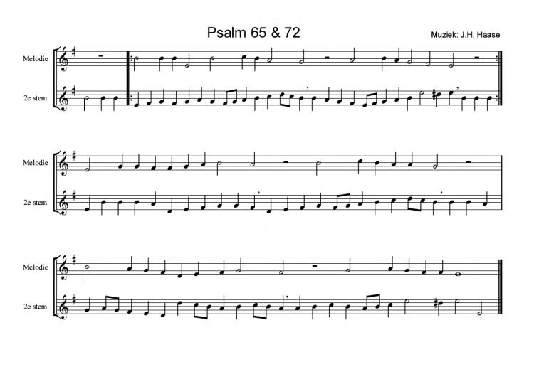 Psalm 65/72