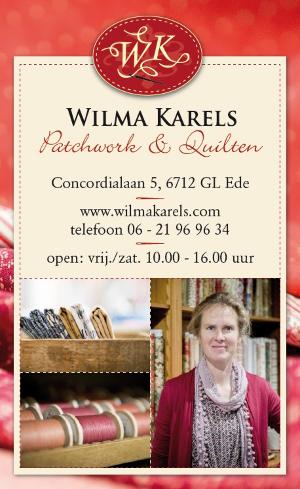 Wilma Karels Patchwork & Quilten